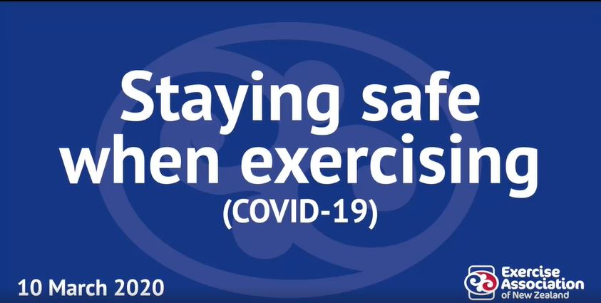 Exercise and Covid 19