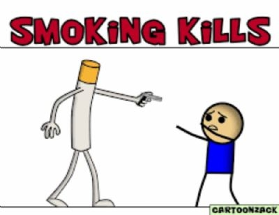 ''SMOKING KILLS''